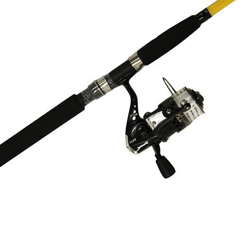 Eagle Claw CatClaw Spinning Combo, 8' Length, 2 Piece Rod, Medium Power