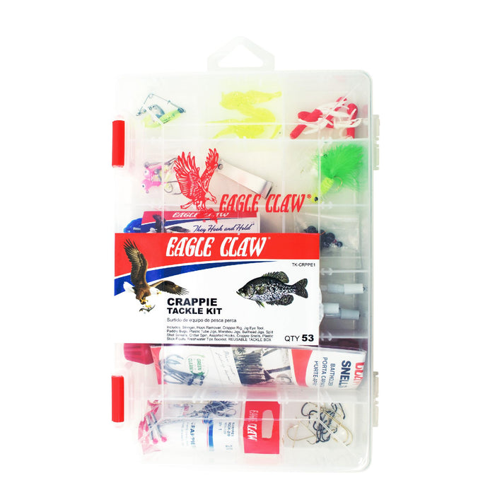 Crappe Tackle Kit 53 Pieces