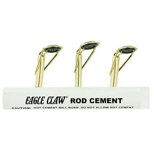 Eagle Claw Eagle Claw Rod Tip Repair Kit w-Glue - Black