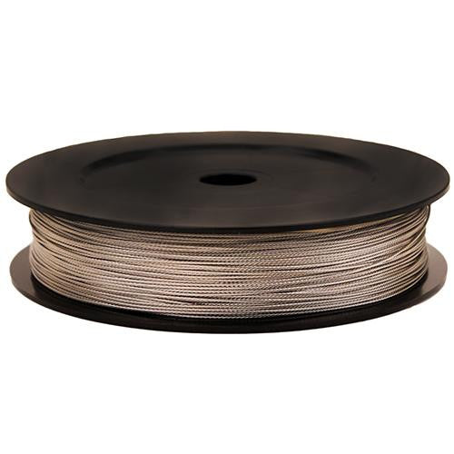 Premium Stainless Steel Replacement Downrigger Cable - 300 Foot Spool
