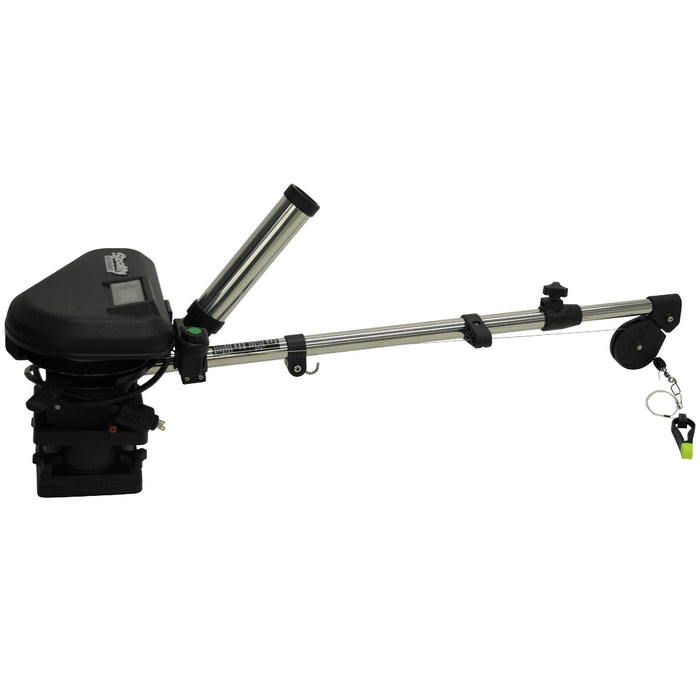 "60"" HP Downrigger - SS Telescoping Boom, Size Base"