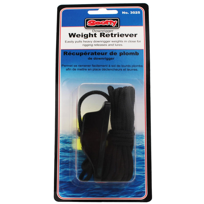 Downrigger Weight - Retriever with Snap