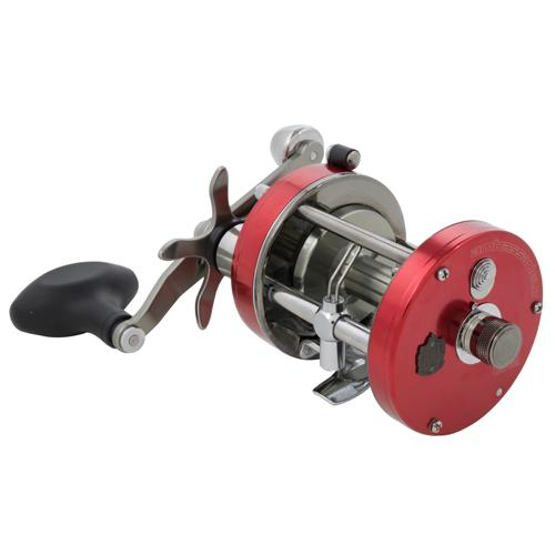 "Ambassadeur 7000 C Round Baitcast Reel - 7000 4.1:1 Gear Ratio, 2 Bearings, 22"" Retrieve Rate, 20 lb Max Drag, Right Hand"