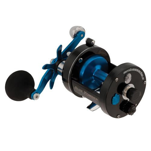"Abu Garcia Ambassadeur Blue Yonder Baitcast Reel - 7000 5.3:1 Gear Ratio, 3 Bearings, 28"" Retrieve Rate, 20 lb Max Drag, Right Hand"