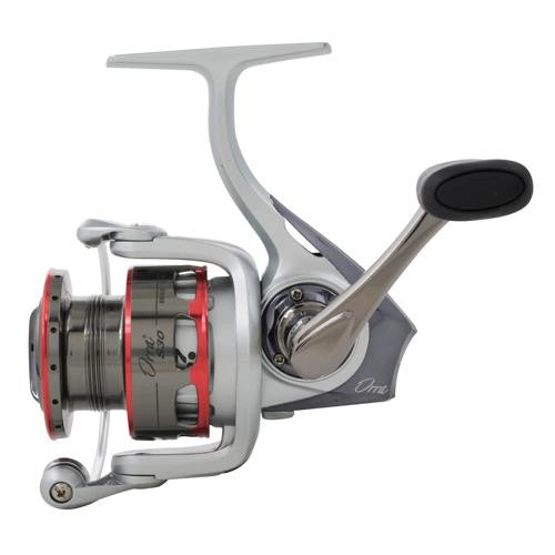 "Abu Garcia Orra S Spinning Reel - 10, 5.8:1 Gear Ratio, 7 Bearings, 26.50"" Retrieve Rate, Ambidextrous"