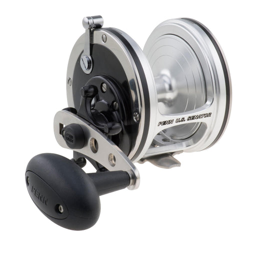 "US Senator Conventional Reel - 113, 4.3:1 Gear Ratio, 34"" Line Retrieve, 27 lb Max Drag, Right Hand"