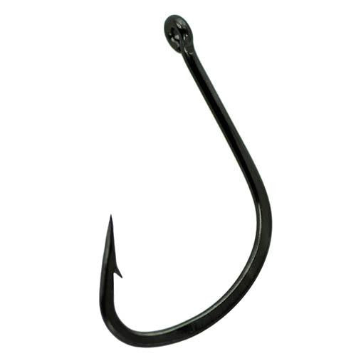 Micro Wide Gap Hook - Size 6, NS Black, Per 10