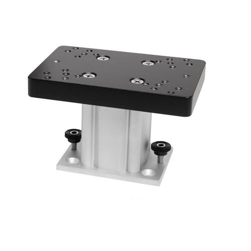 Aluminum Fixed Base Pedestal Mount - 4""