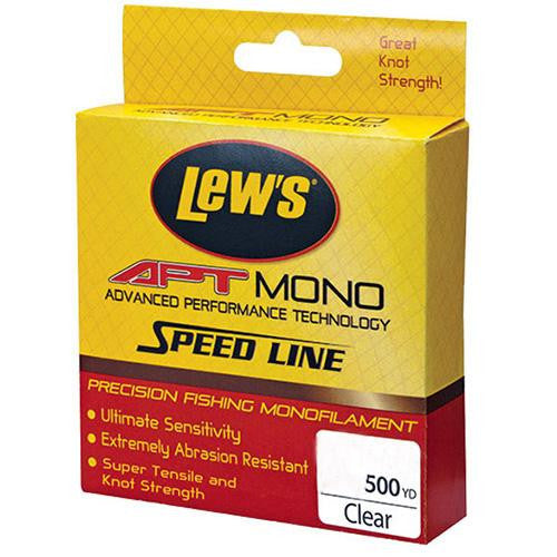 Lew's APT Monofilament Speed Line - 25 lbs, 500 Yards, Clear