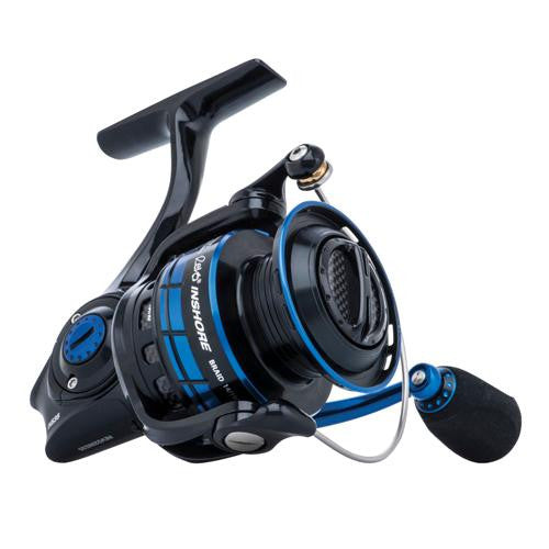 "Abu Garcia Revo Inshore Spinning Reel - 40, 6.2:1 Gear Ratio, 7 Bearings, 40"" Retrieve Rate 17lb Max Drag, Ambidextrous"