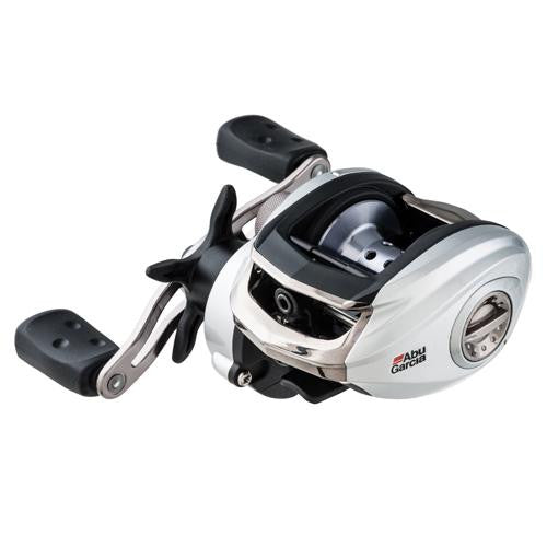 "Abu Garcia Silver Max Low Profile Reel - 6.4:1 Gear Ratio, 6 Bearings, 26"" Retrieve Rate, 18lb Max Drag, LH, Clam Package"