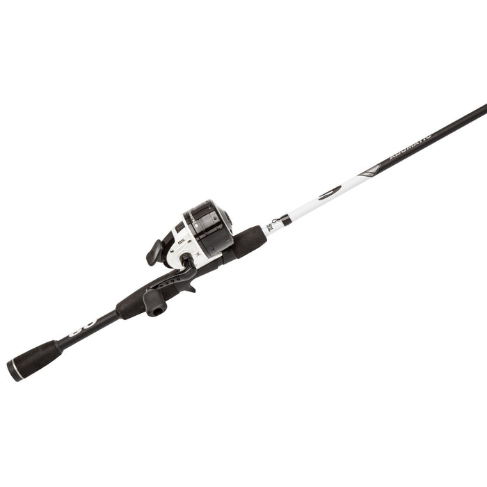 Abumatic S Spincast Combo - 10, 4.3:1 Gear Ratio, 2 Bearings, 6' 2pc Rod, 6-12 lb Line Rate, Ambidextrous