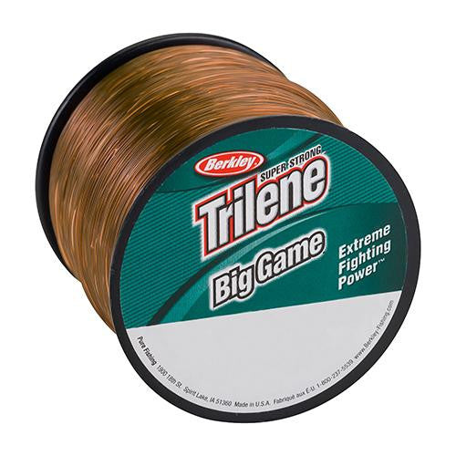"Berkley Trilene Big Game Monofilament Spool - 440 Yards, 0.022"" Diameter, 30 lbs Breaking Strength, Coastal Brown"
