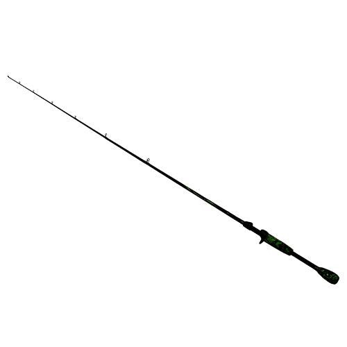 Berkley AMP Casting Rod - 6' Length, 1pc Rod, 12-20 lb Line Rate, 3-8-1 oz Lure Rate, Medium-Heavy Power