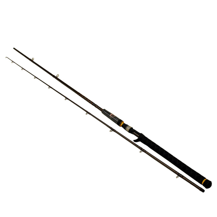 Buzz Ramsey Air Series Trolling Rod - 9' Length, 2 Piece Rod, 15-40 lb Line Rate, 2-6 oz Lure Rate, Heavy Power