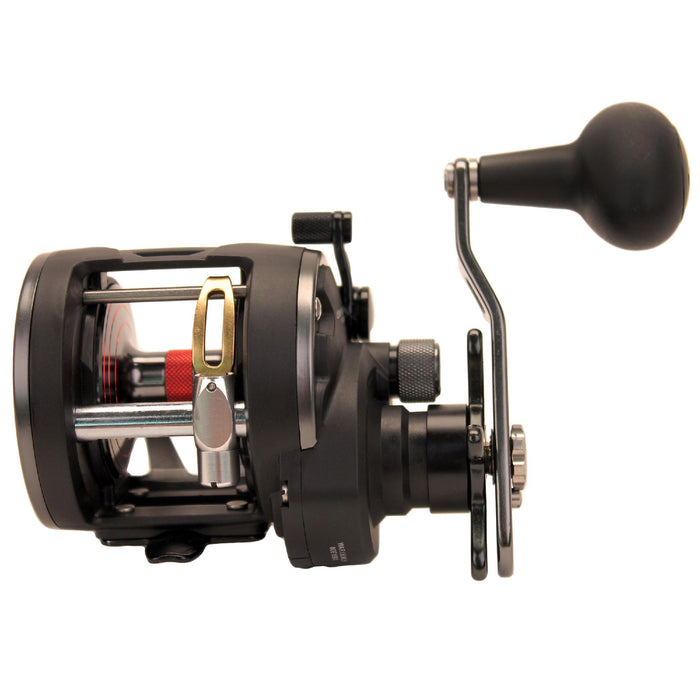 "Warfare Level Wind Conventional Reel - 15, 5.1:1 Gear Ratio, 29"" Retrieve Rate, 15 lb Max Drag, Left Hand, Clam Pack"
