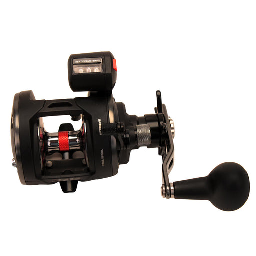 "Warfare Level Wind Conventional Reel - 15, 5.1:1 Gear Ratio, 29"" Retrieve Rate, 15 lb Max Drag, Right Hand, Boxed"