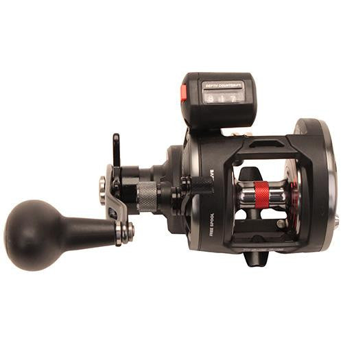 "Penn Warfare Level Wind Conventional Reel - 15, 5.1:1 Gear Ratio, 29"" Retrieve Rate, 15 lb Max Drag, Left  Hand, Boxed"