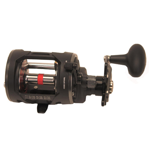 "Warfare Level Wind Conventional Reel - 20, 5.1:1 Gear Ratio, 29"" Retrieve Rate, 15 lb Max Drag, Right Hand, Boxed"