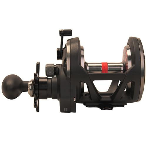 "Penn Warfare Star Drag Conventional Reel - 30, 5.1:1 Gear Ratio, 34"" Retrieve Rate, 15 Max Drag, Ambidextrous, Boxed"