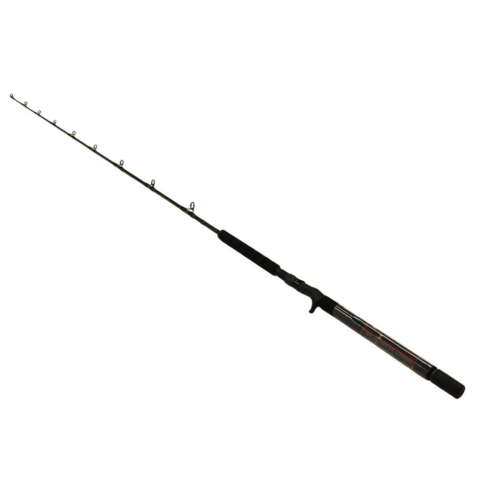 "Carnage II Jigging Casting Rod - 6'2"" 1 Piece Rod, 50-130 lb Line Rate, Medium-Heavy Power, Moderate Fast Action"