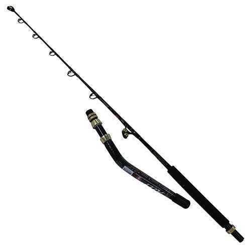 Penn Ally Boat Casting Rod - 6' Length, 2pc Rod, 30-80 lb Line Rate, Medium-Heavy Power, Moderate Fast Action