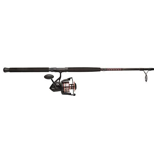 Penn Fierce II Spinning Combo - 3000, 6.2:1 Gear Ratio, 7' 1pc Rod, 8-15 lb Line Rate, Medium-Light Power, Ambid