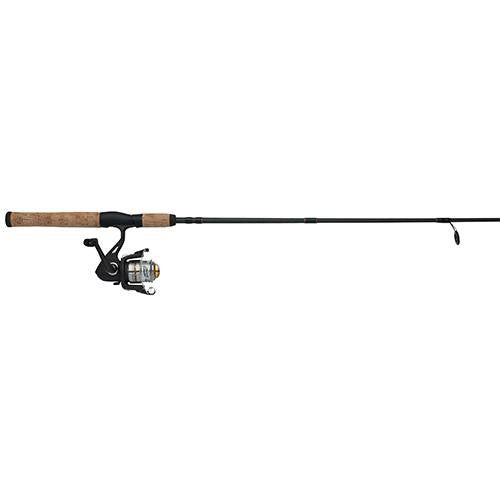 Shakespeare Crusader Spinning Combo - 30, 1 Bearings, 6' Length, 2 Piece Rod, Medium, Ambidextrous