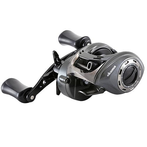 Okuma Calera A Version Low Profile Reel - 6.6:1 Gear Ratio. 7BB + 1RB Bearings, 11 lb Max Drag, Right Hand