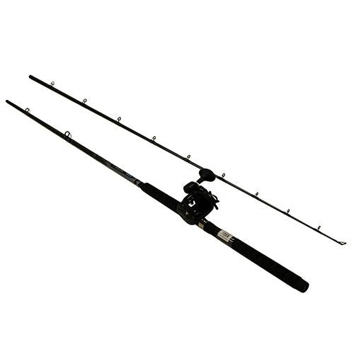 Okuma Great Lakes Trolling Combo - 9' Length, 2 Piece Rod, Medium-Heavy Action, 2BB Bearings