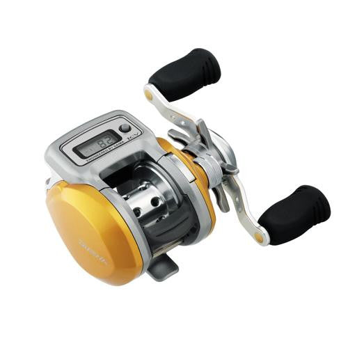 Daiwa Accudepth ICV Low Profile Reel, 6.3:1 Gear Ratio, 3BB+1RB Bearings, Right Hand