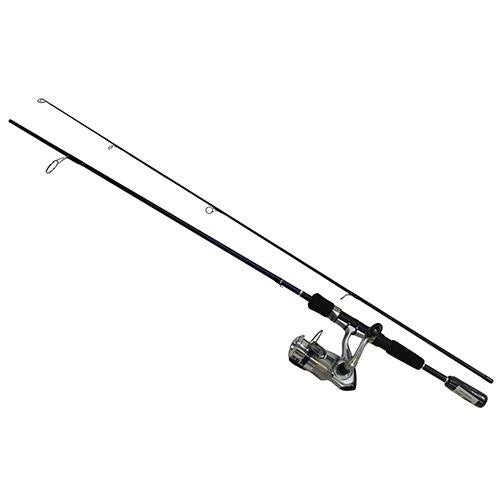 "D-Shock Freshwater Spinning Combo - 2 Bearings, 5'6"" Length, 2 Piece Rod, Light Power"