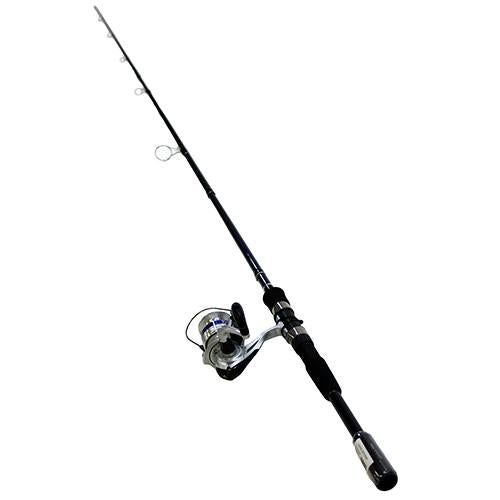 D-Shock Freshwater Spinning Combo - 2 Bearings, 7' Length, 3 Piece Rod, Medium Power