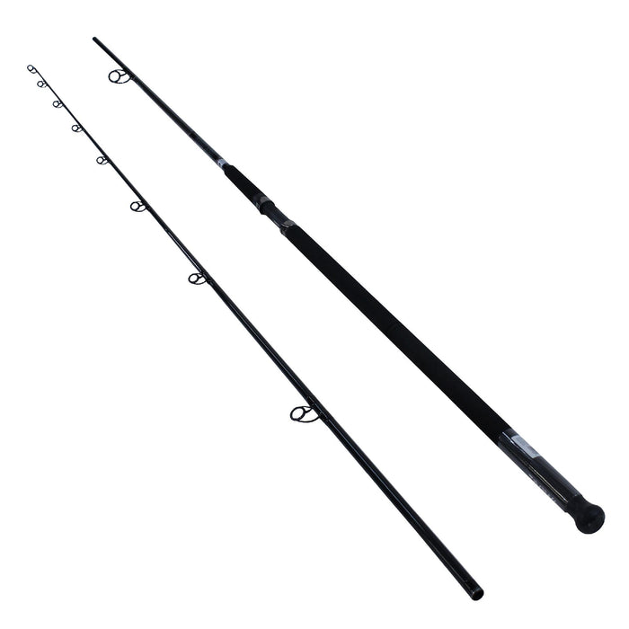 Emcast Surf Casting Rod - 11' Length, 2 Piece Rod, 20-40 Line Rate, 4-7 oz Lure Rate, Heavy Power