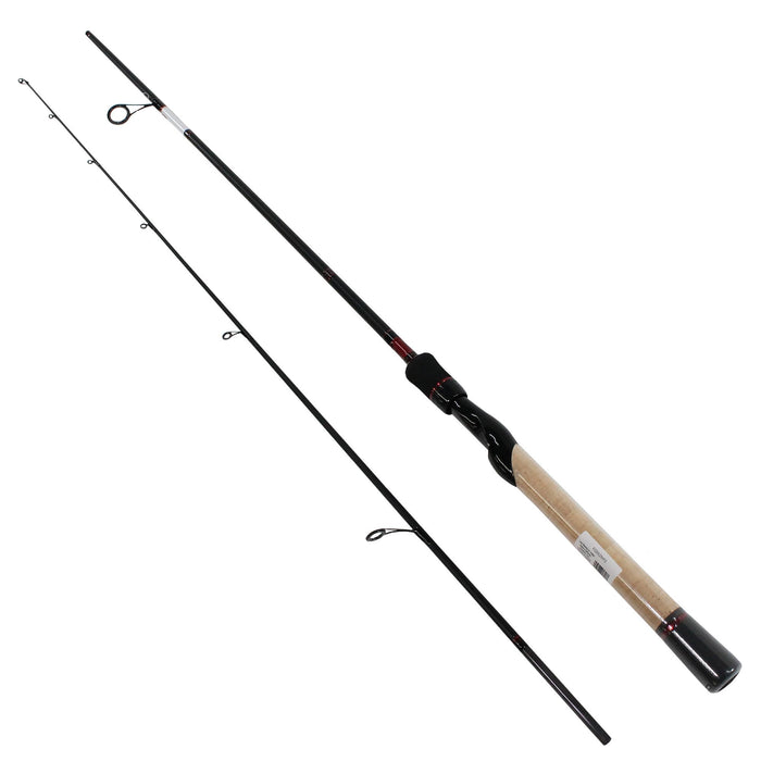 "Fuego Spinning Rod - 6'8"" Length, 1 Piece Rod, 6-15 lb Line Rate, Medium-Fast Power"