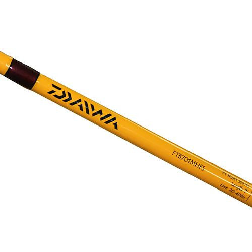 Daiwa FT Conventional Boat Rod - 7' Length, 1 Piece Rod, 20-40 lb Line Rating, Medium-Heavy Power