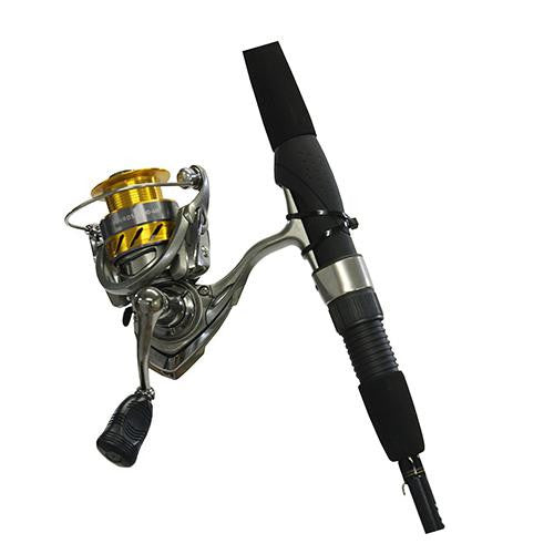 "Daiwa Revros Freshwater Spinning Combo - 4RB+1RB Bearings, 6'6"" Length, 2 Piece Rod, Light Power"