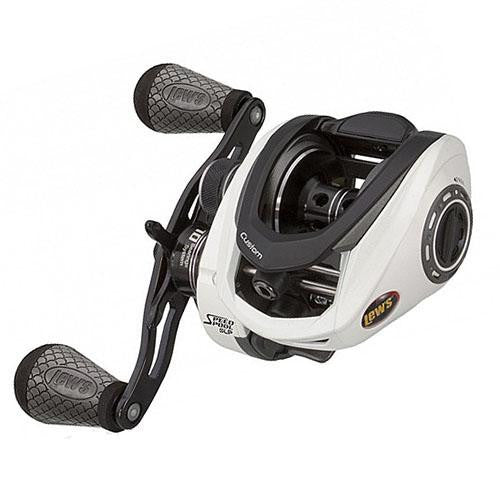 Lew's Custom Speed Spool MSB Casting Reel - 7.5:1 Gear Ratio, 10 Bearings, 14 lb Max Drag, Right Hand