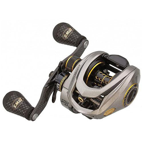 "Lew's Custom Pro Speed Spool ACB Casting Reel - 6.8:1 Gear Ratio, 11 Bearings, 27"" Retireve Rate, 14 lb Max Drag, Right Hand"
