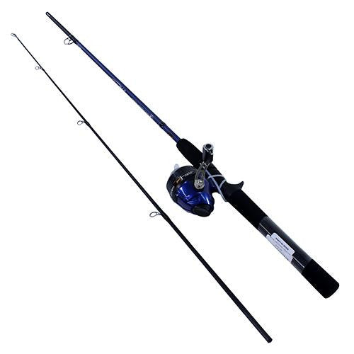 "Lew's Ameican Hero  Spincast Combo, 3.1:1 Gear Ratio, 5'6"" 2pc Rod, Medium Power"