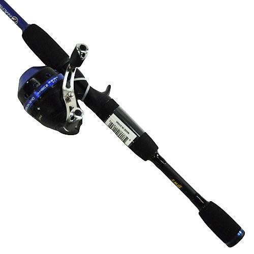 Lew's American Hero Freshwater Spincast Combo, 6' 2pc Rod, 3.1: Gear Ratio, 0 Bearings