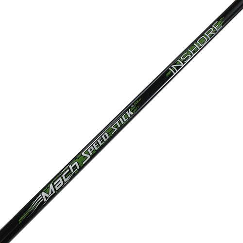"Mach Inshore Speed Stick - Casting, 6'9"" Length, 1 Piece Rod, 8-15 lb Line Rating, Medium Power"