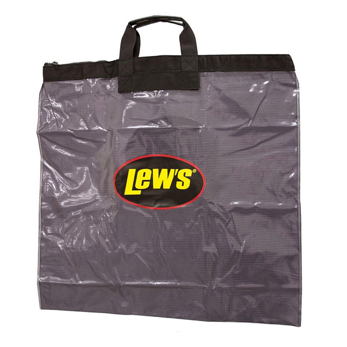 ournament Weigh In Bag with Heavy Duty Zipper, Black