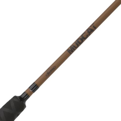 Mudcat Casting Rod - 7' Length, 2 Piece Rod, 12-30 lb Line Rate, 1-4 oz Lure Rate, Medium-Heavy Power