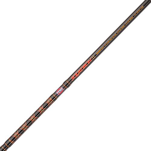 Sqardron II Inshore Spinning Rod - 7' Length, 1 Piece Rod, 15-30 lb Line Rate, 3-4-2.5 oz Lure Rate, Heavy Power