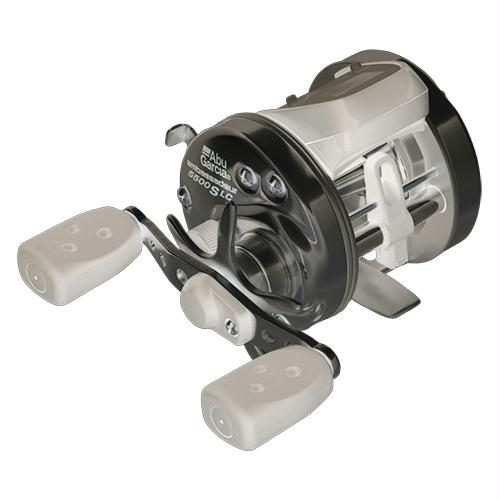 "Ambassadeur s Line Counter Baitcast Round Reel - 6500, 5.3:1 Gear Ratio, 3 Bearing, 25 1-2"" Retrieve Rate, Right Hand, Clam Pack"