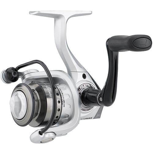"Abu Garcia Silver Max Spinning Reel - 10, 5.2:1 Gear Ratio, 6 Bearings, 21"" Retrieve Rate, Ambidextrous, Boxed"
