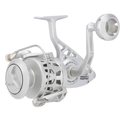 "Torque II Spinning Reel - 9500S, 5.1:1 Gear Ratio, 50"" Retrieve Rate, 60 lb Max Drag, Ambidextrous"