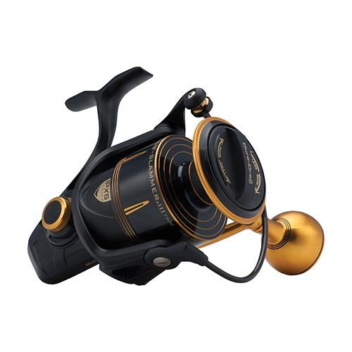 "Penn Slammer III Spinning Reel - 7500, 4.7:1 Gear Ratio, 38"" Retrieve Rate, 50 lb Max Drag, Ambidextrous"