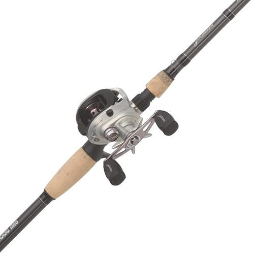 Pflueger Trion LP Baitcast Combo, 7.3:1 Gear Ratio, 7' 1pc Rod, 10-17 lb Line Rating